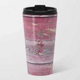 Pink Barn Wood Travel Mug