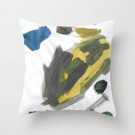 Think Big Watercolor Throw Pillow