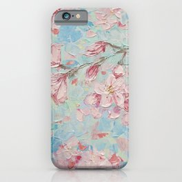 Yoshino Cherry Blossoms No. 2 iPhone Case