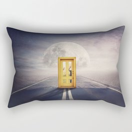 ghosts not welcomed... Rectangular Pillow