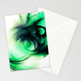 abstract fractals 1x1 reacmagi Stationery Cards