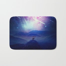 Majestic Cosmic Guardian Bath Mat