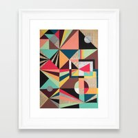 prism Framed Art Prints featuring Prism by Kerry Lacy