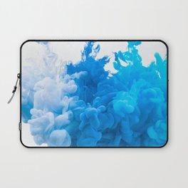 Blue Abstract Smoke Laptop Sleeve