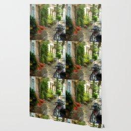 A neighborhood without cars - Bremen Schnoorviertel Wallpaper