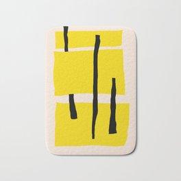 Yellow dream Bath Mat