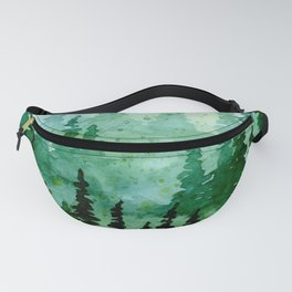 Deep in the pine woods Fanny Pack