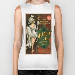 Vintage poster - Aladdin Jr. Biker Tank