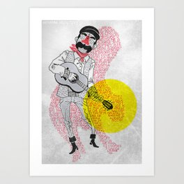 My Balkan - First Night Art Print
