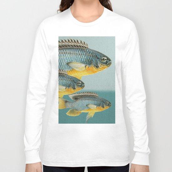 Fish Classic Designs 12 Long Sleeve T-shirt