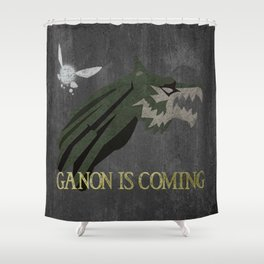 Ganon is Coming Shower Curtain