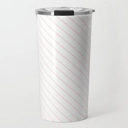 Blushing Bride Stripe Travel Mug