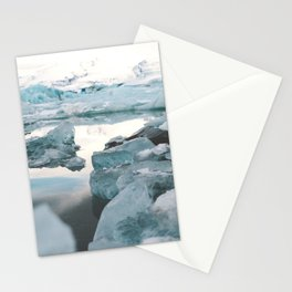 Iceland Glacier Lagoon   Jökulsárlón Stationery Cards