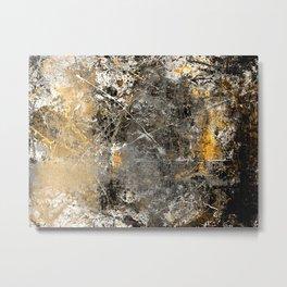 Pollock Influence Metal Print
