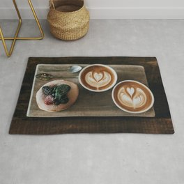 Latte + Pastry Rug