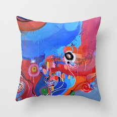 Fun Fair Throw Pillow