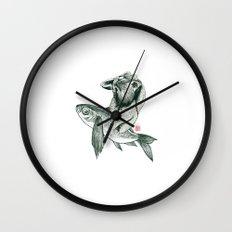 Rabbit & Rocketfish Wall Clock