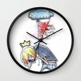 Stupid politicians Wall Clock