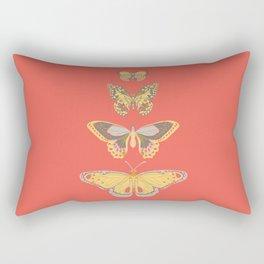 Flutterby Garden Rectangular Pillow