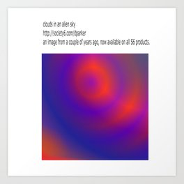 now on all S6 products Art Print