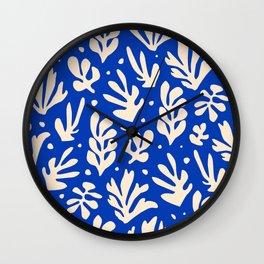 Matisse got the Blues Wall Clock