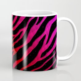 Ripped SpaceTime Stripes - Pink/Red Coffee Mug