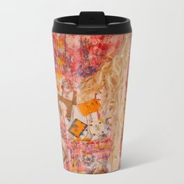 The Red Wall Metal Travel Mug