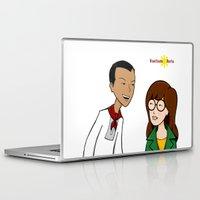 daria Laptop & iPad Skins featuring Daria meets Andres Bonifacio by Cesar Cueva