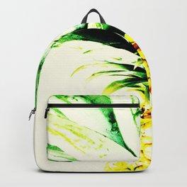 Golden Pineapple Backpack