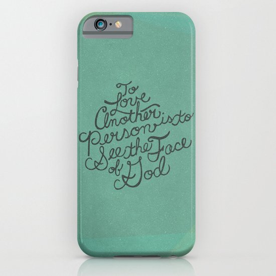 To Love Another... iPhone & iPod Case