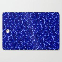 Hyperlink Deep Blue – '90s Water Graphics Cutting Board