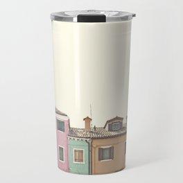 Colored Houses Travel Mug