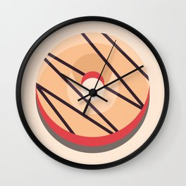 1DONUT - Autumn #01 Wall Clock