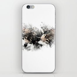 Abstract Wolf iPhone Skin