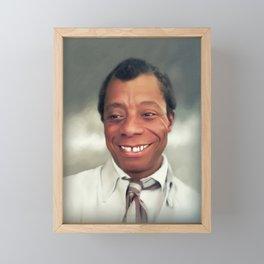 James Baldwin, Literary Legend Framed Mini Art Print
