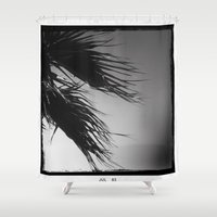 palm Shower Curtains featuring palm* by spysessionz