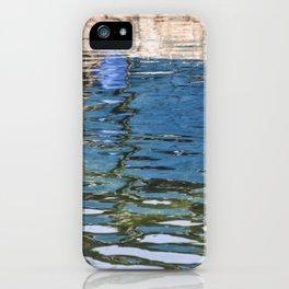 Reflecting Blues iPhone Case