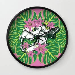 Deathvslife3 Wall Clock