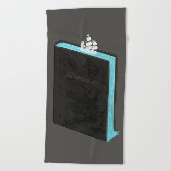 The Adventurer Beach Towel
