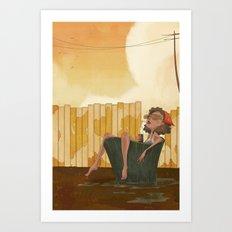 Pail Art Print