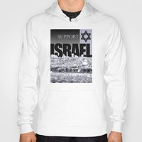 israel Hoodies featuring Support Israel by politics