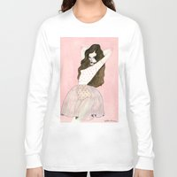 coconut wishes Long Sleeve T-shirts featuring Coconut Ice by Caitlin Shearer