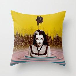 MUNSTER BATH Throw Pillow