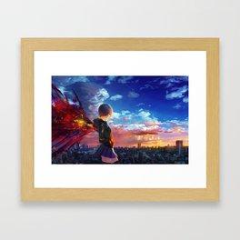 tokyo ghoul Framed Art Print