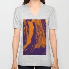 Digitaly abstract Unisex V-Neck