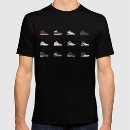 aj 1-12 are my favs especially I, IIi, IV, VI, IX, XI, XII T-shirt