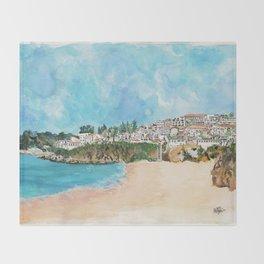 Albufeira, Portugal Throw Blanket