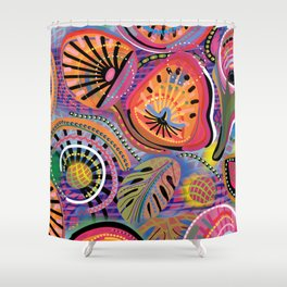 Biology of Bliss Shower Curtain