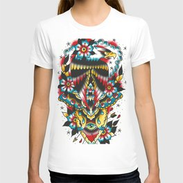 Eagle and eyes T-shirt