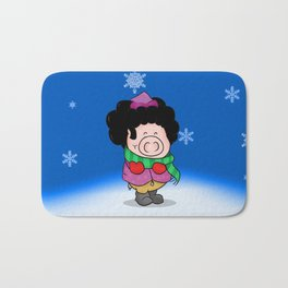 Winter time Bath Mat